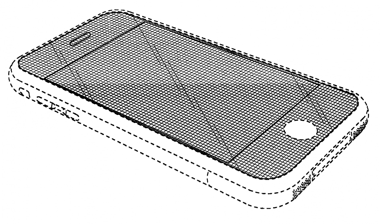 iphone patent drawing