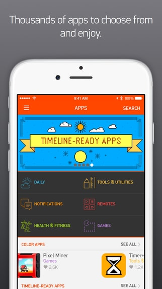 Pebble Time App - 1