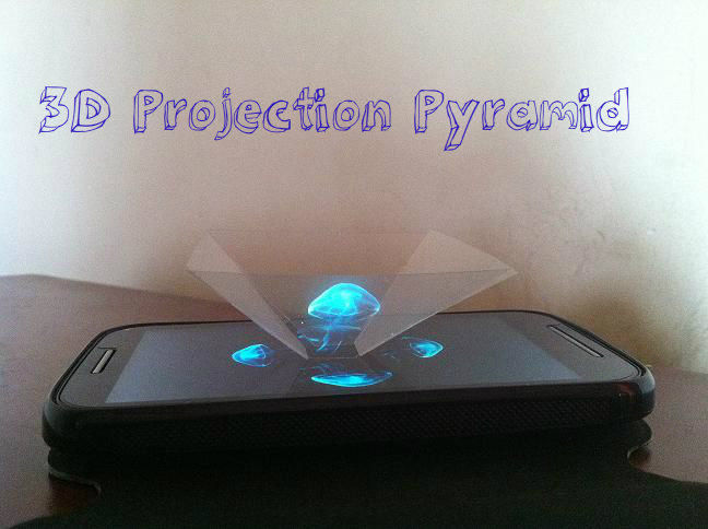 3D Projection Pyramid