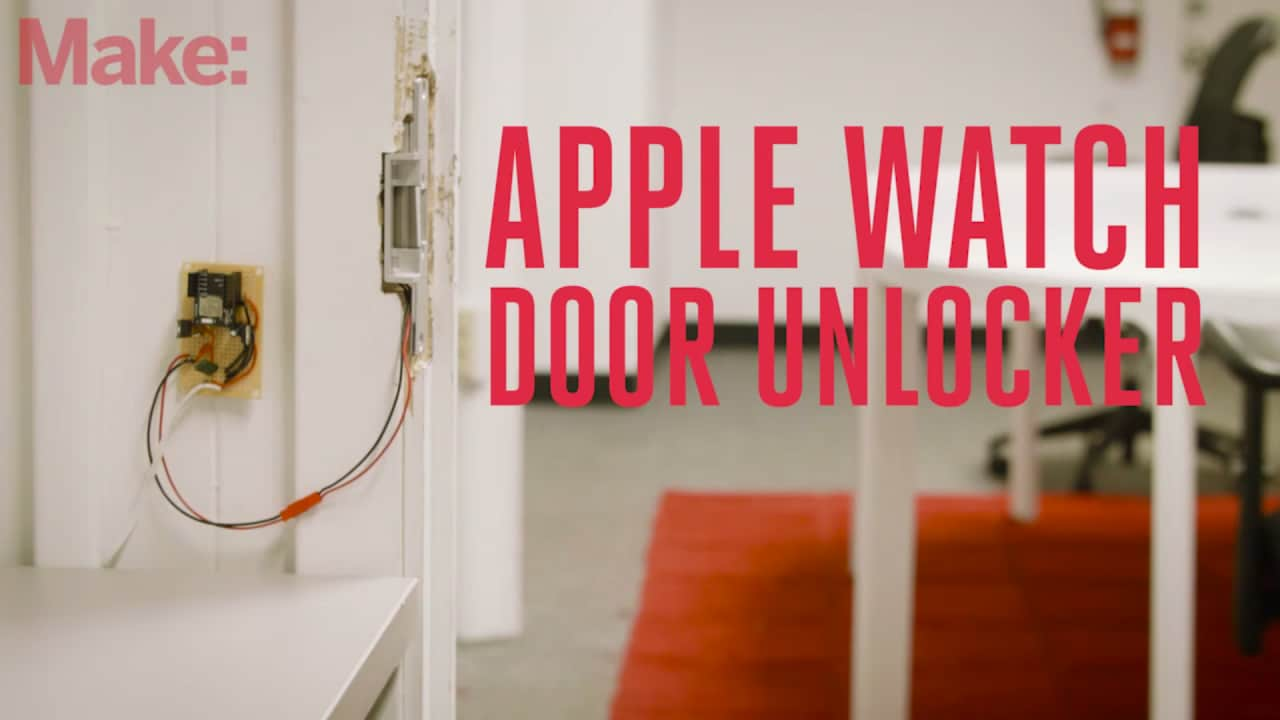Apple Watch Door Unlocker