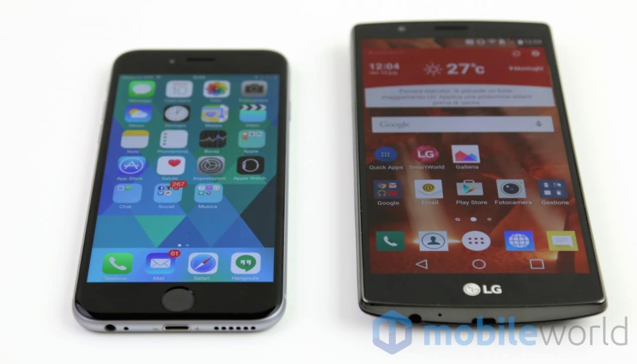 Confronto iPhone 6 - LG G4  - 3