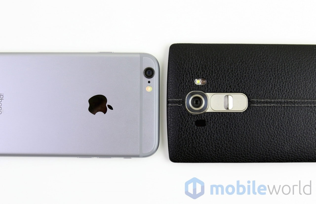 Confronto iPhone 6 - LG G4  - 9