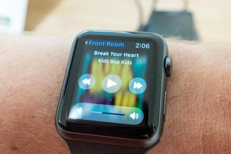 Sonos Apple Watch