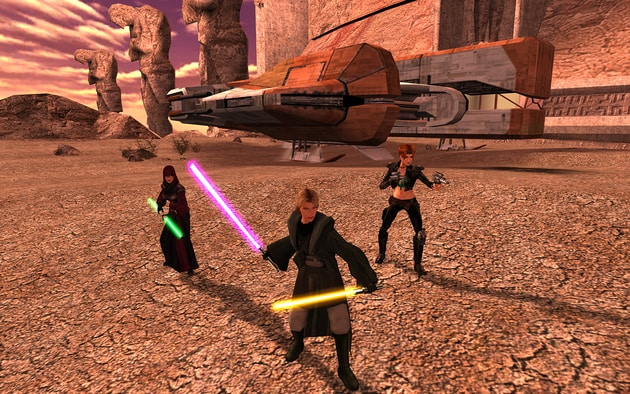 Star Wars Knights of the Old Republic II - 1