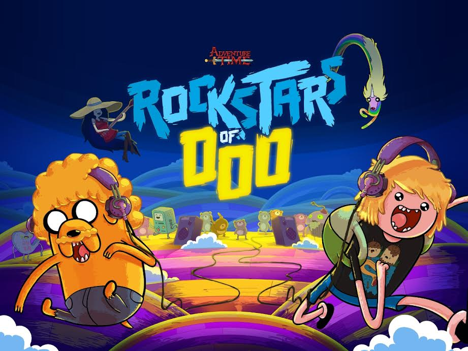 Adventure Time Rockstars of Ooo