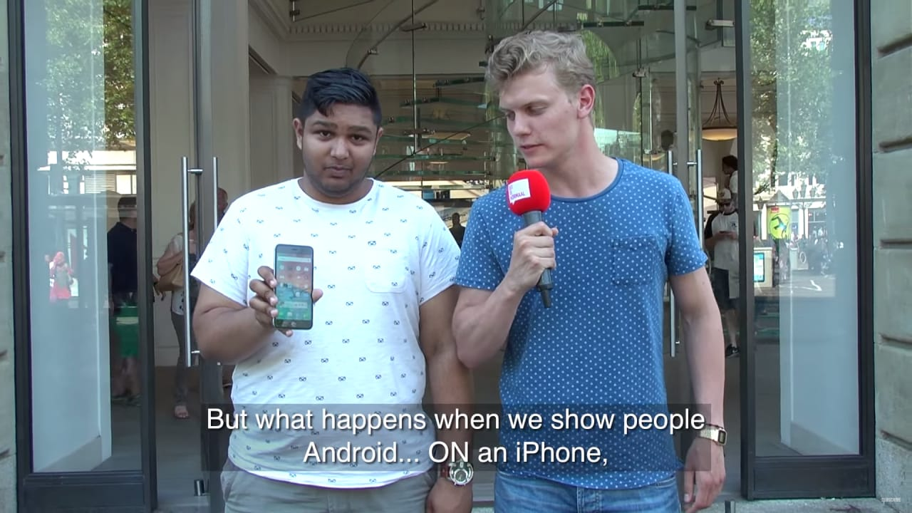 Apple iPhone Android fanboy