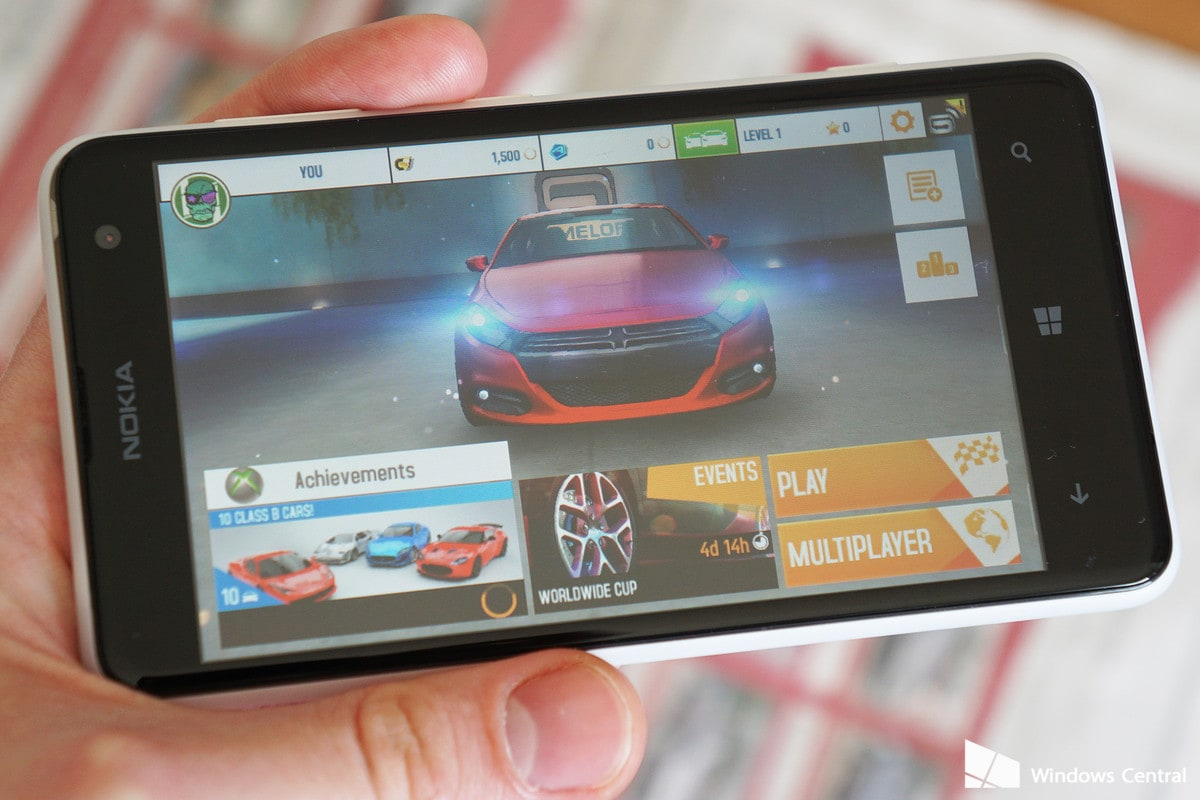 Asphalt 8 Airbone Windows Phone