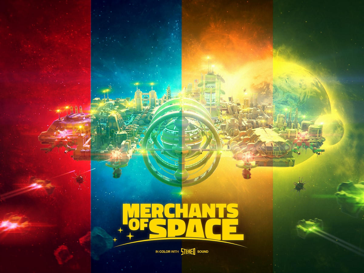 Merchants of Space Copertina