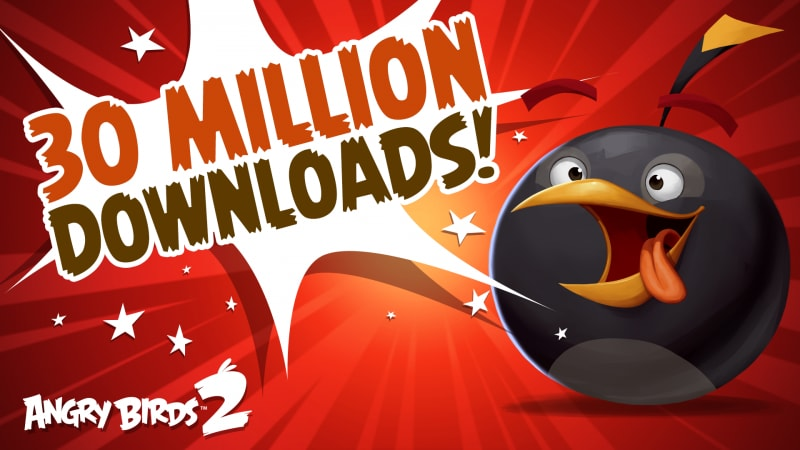 angry birds 2 30 milioni