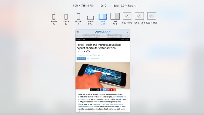 iPad Mini 4 split screen 2