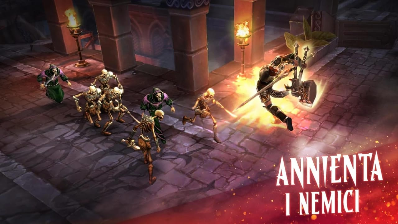 L'Action RPG ETERNITY WARRIORS 4 disponibile per Android e iOS