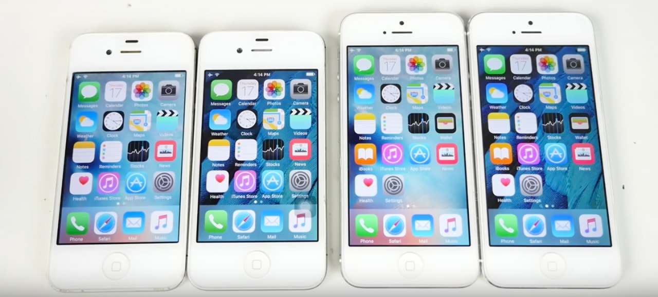 Test iOS 9 vs iOS 9.1 beta