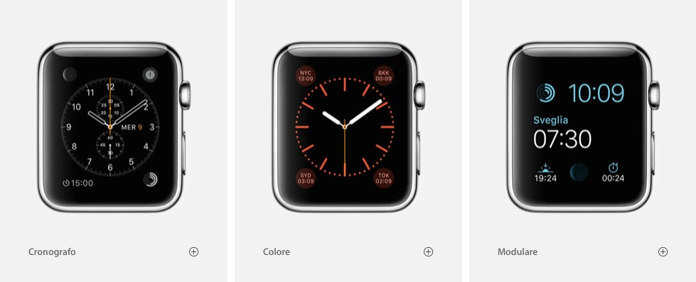 Apple Watch - complicazioni