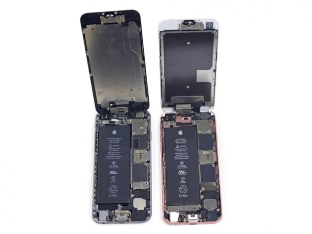 iPhone 6 a sinistra, iPhone 6s a destra