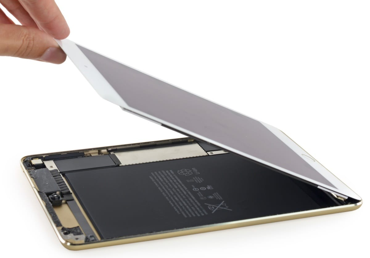 teardown iPad mini 4