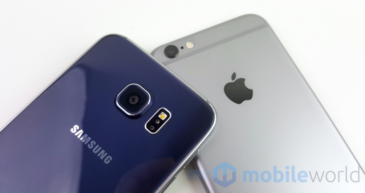 Samsung Galaxy S6 vs Apple iPhone 6s