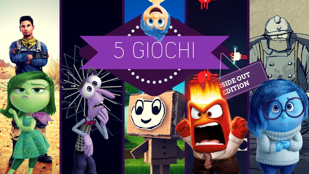 5 giochi Inside Out Edition