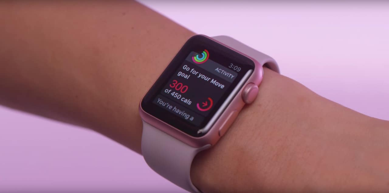 Apple Watch spot Move
