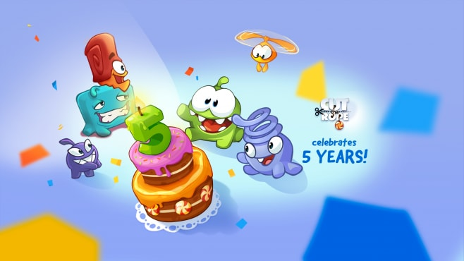 Cut the rope quinto anniversario
