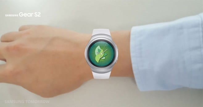 Gear S2 try on