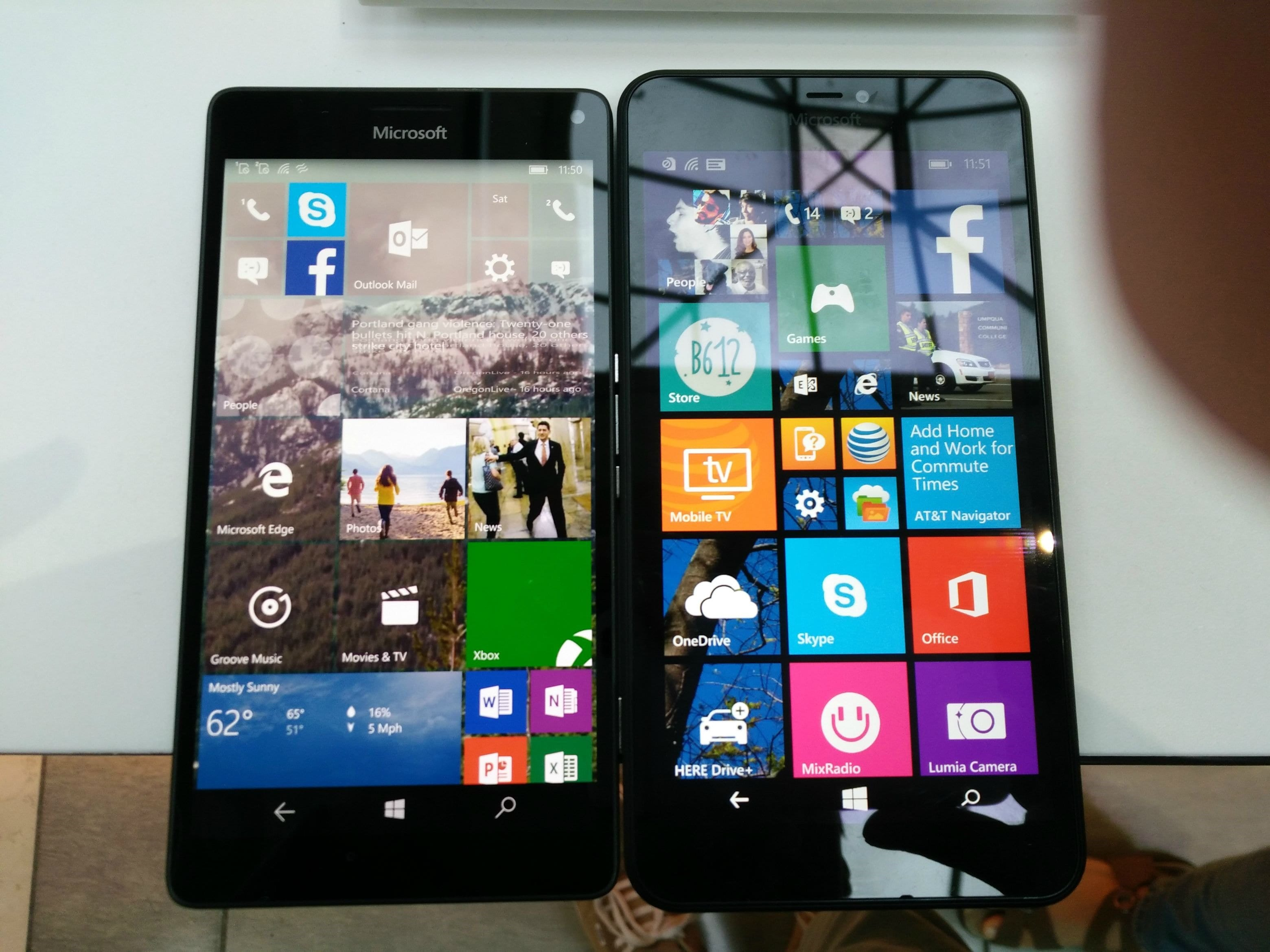 Lumia-640-XL-vs-950-XL-Front1