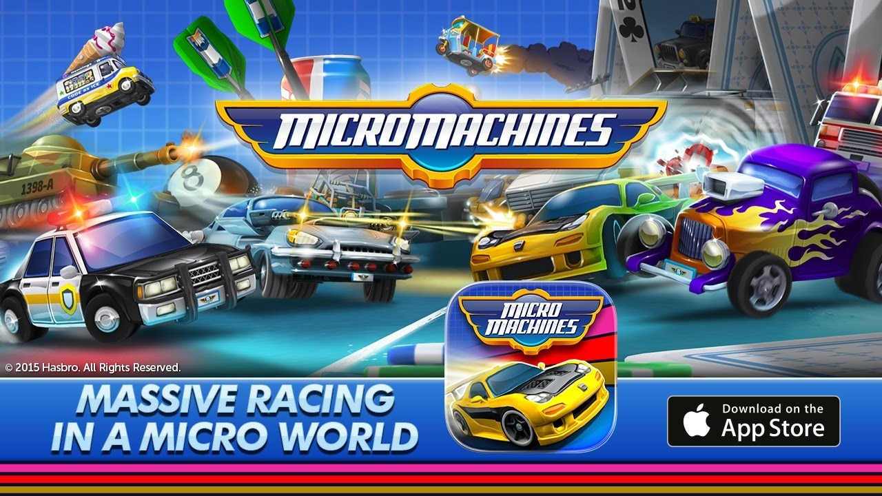 Micro Machines iOS