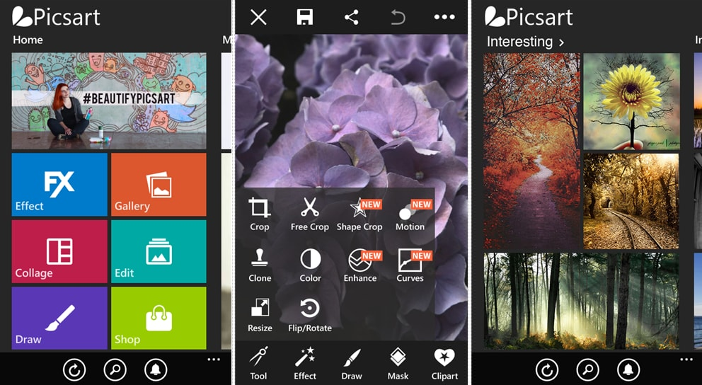 PicsArt Windows Phone