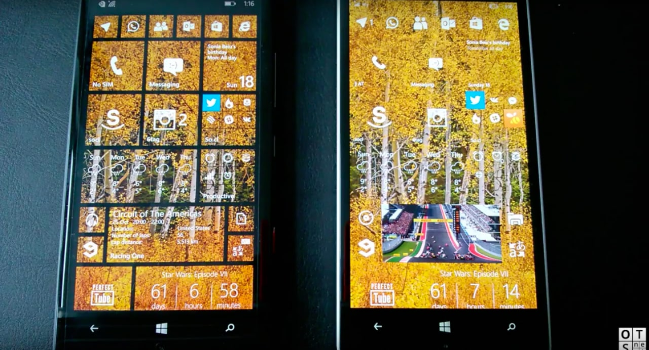Windows 10 Mobile vs Windows Phone 8.1 - Lumia 930