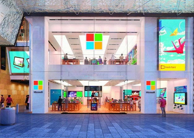 Sketch-showing-the-inside-of-the-new-Microsoft-Store