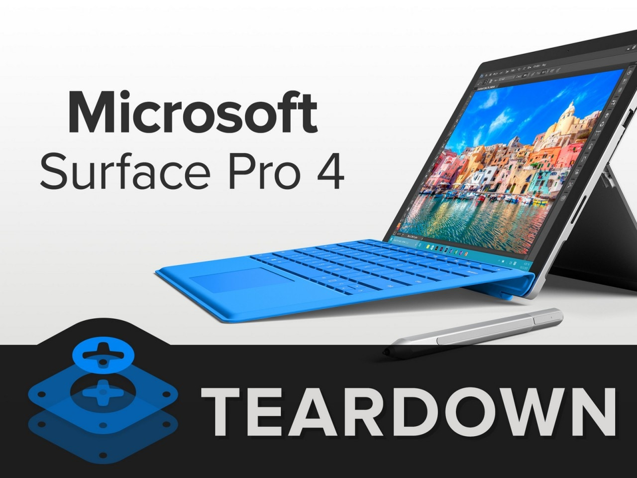 Teardown Microsoft Surface Pro 4