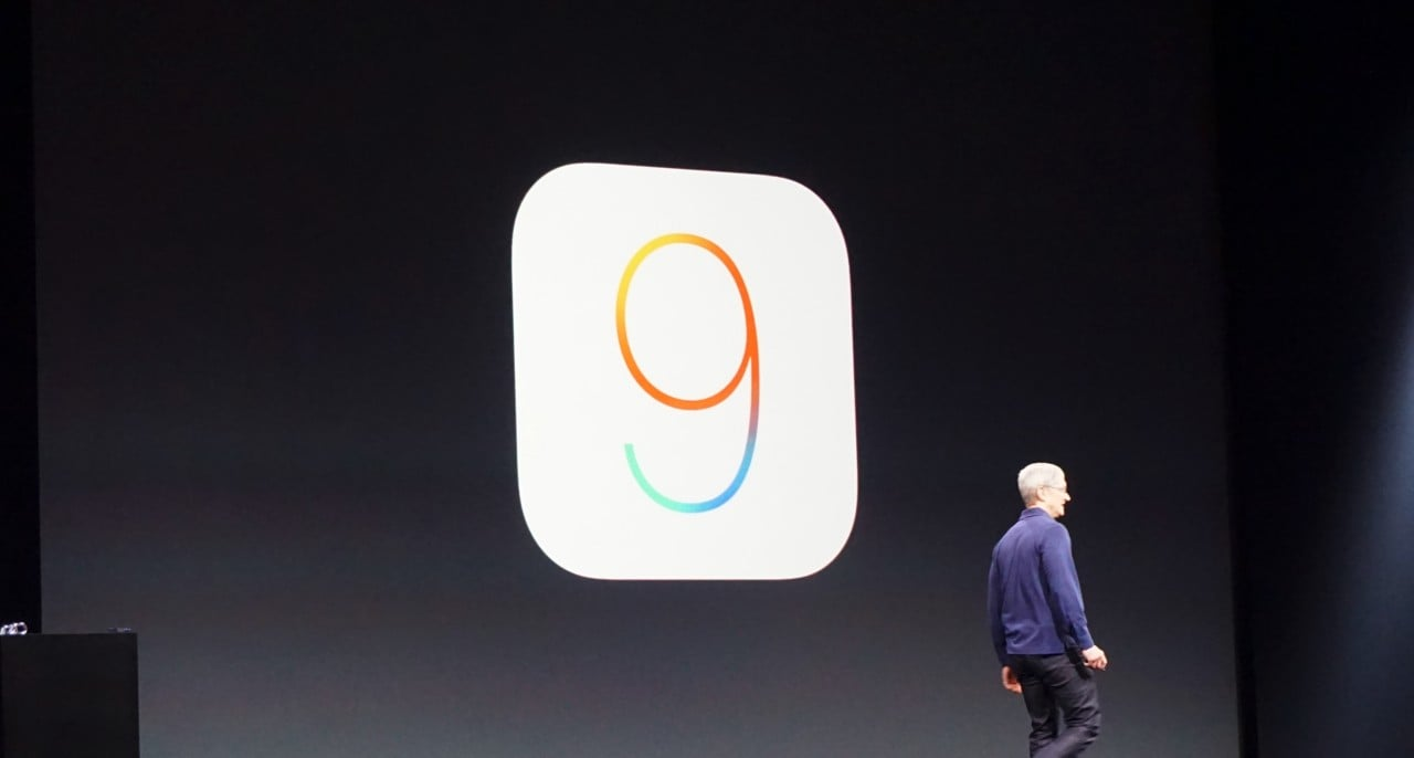 iOS 9 Tim Cook