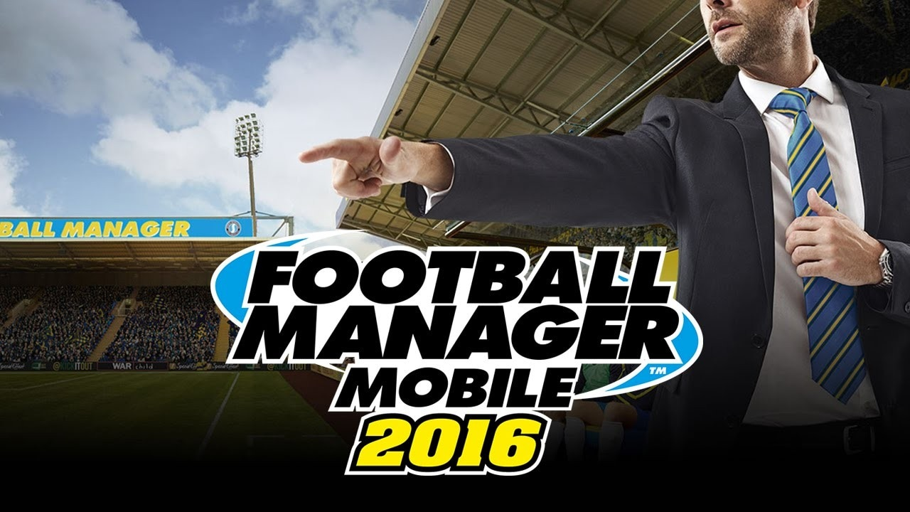 Football Manager Mobile 2016 copertina