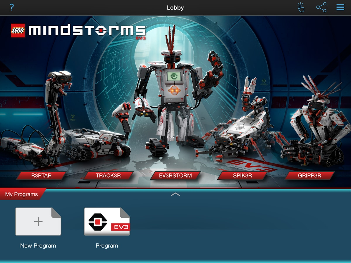 LEGO MINDSTORMS Programmer disponibile per tablet Android e iOS