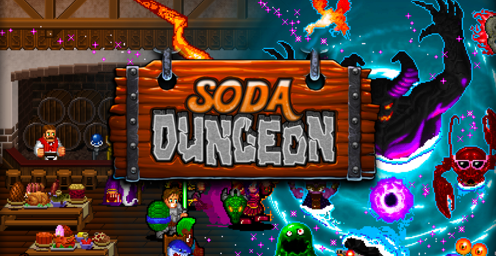 Soda Dungeon Title