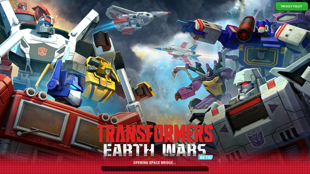 Transformers Earth Wars Copertina