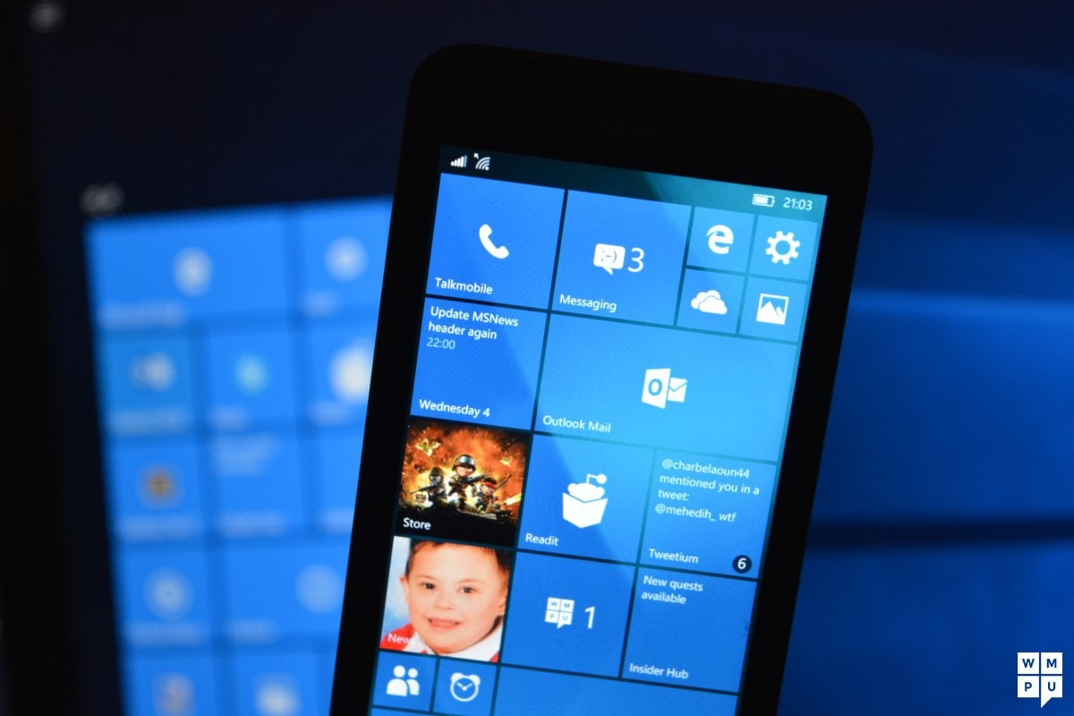 Windows 10 Mobile - build 10586
