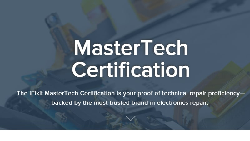 iFixit certification