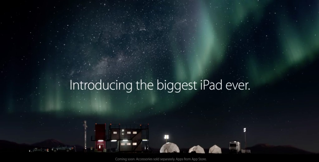 iPad Pro spot Apple