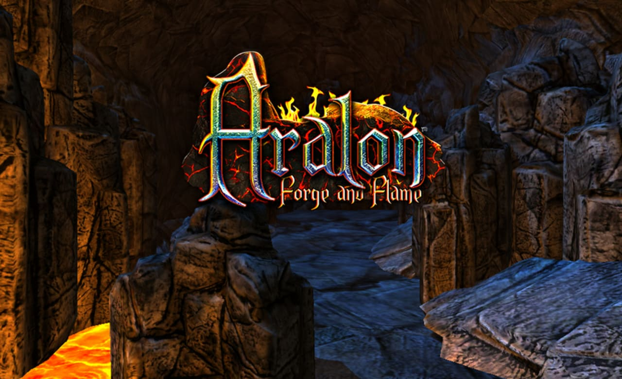 Aralon Forge and Flame Title