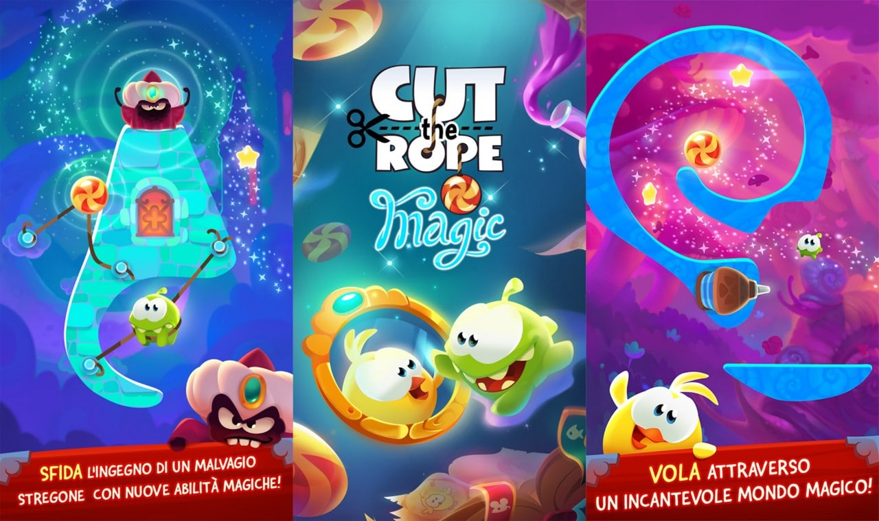 Cut the Rope Magic Copertina