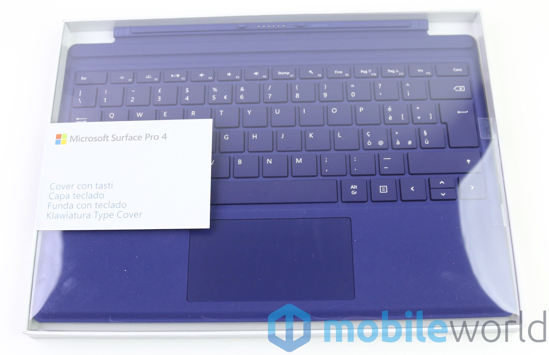 Surface Pro 4 Type Cover – 1