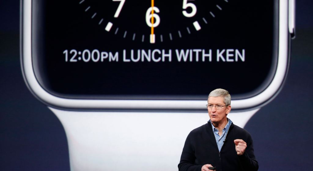 Tim Cook - Evento Apple Watch