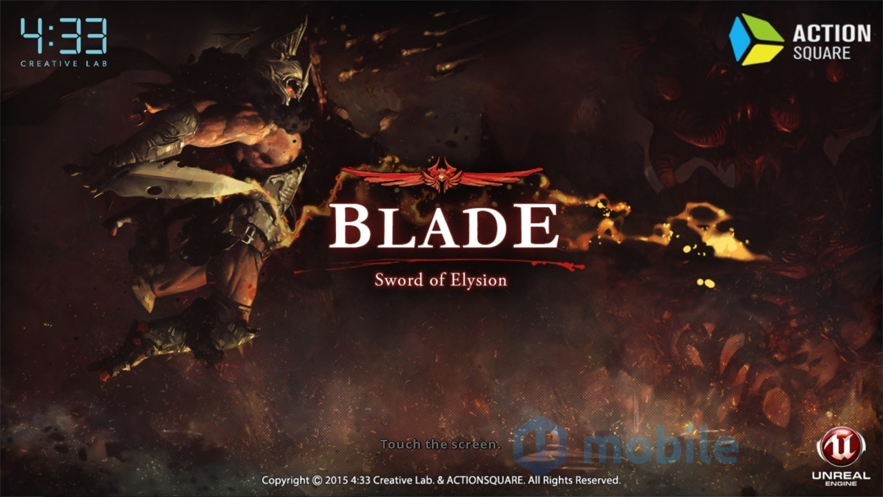 Blade Sword of Elysion Copertina