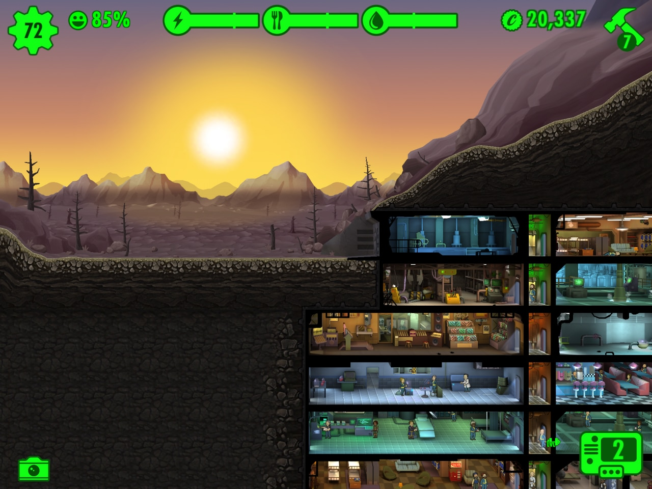 Fallout Shelter update marzo 2016 - 2