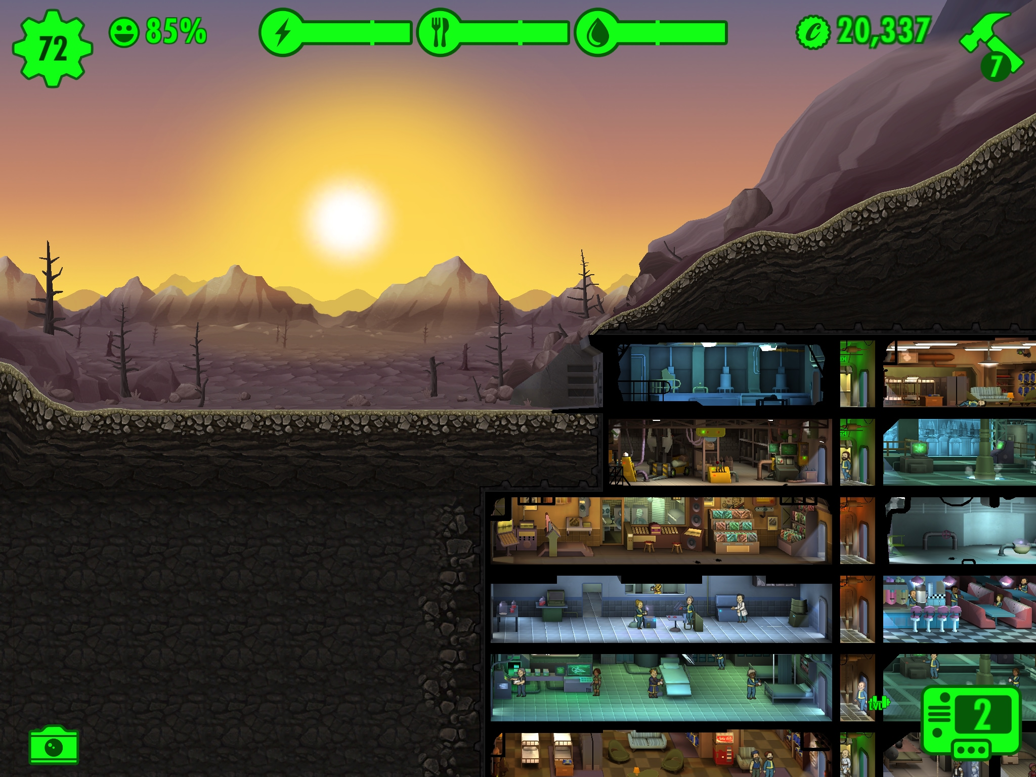 Fallout Shelter update marzo 2016 – 2