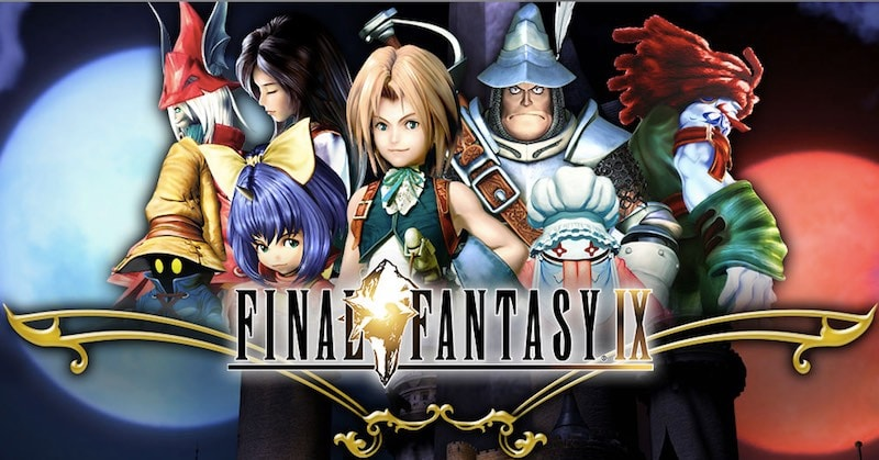 Final Fantasy IX title