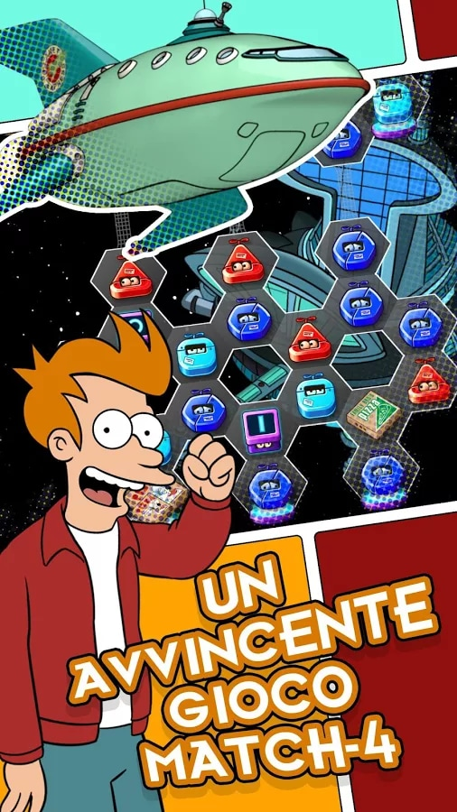 Futurama Game of Drones - 3