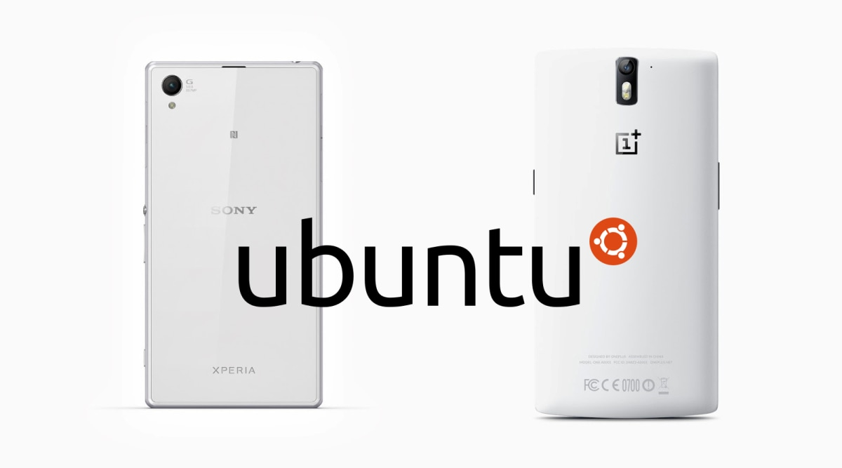 Sony-Xperia-Z1-and-OnePlus-One-Ubuntu-Phones