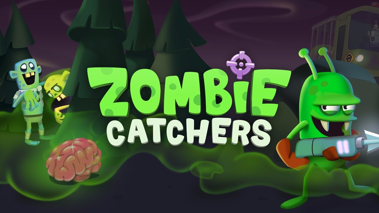 Zombie Catchers Title