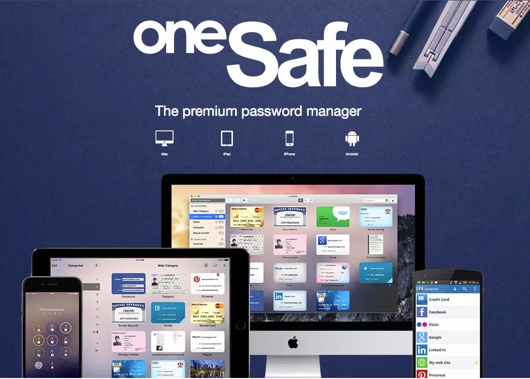 onesafe password manager ios